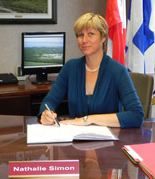 Mayor Chateauguay, Nathalie Simon